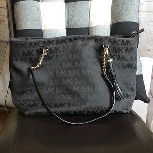 Michael Kors Signature MK Logo Purse Shoulder Bag